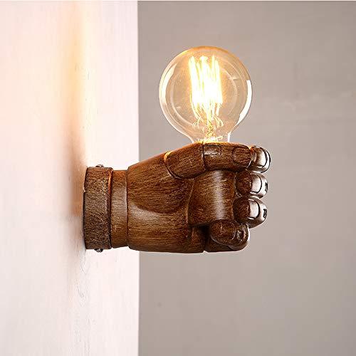 Applique,Applique da comodino da camera da letto a pugno, lampada da tavolo LOFT retro restaurant cafe bar - marrone