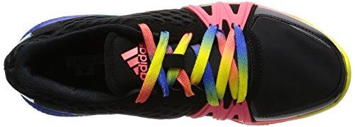 Adidas ivement, Stellasport-noir / multi-couleurs, 6,5-nous core black/turbo/bright yellow