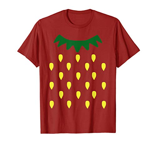 Strawberry Costume - Erdbeere Erdbeer-Kostüm Halloween  T-Shirt