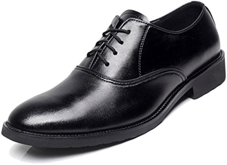 MERRYHE Geschäfts Arbeits formale Schuhe Für Männer Echtes Leder Oxford klassischer Hochzeits Partei Schnürschuh Schuh