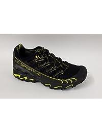 Sportive Scarpe da Lavoro Uomo - Scarpe Uomo Viaggio Running (38.5, Rosso)