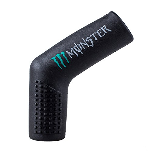 SODIAL(R) gomma nera Protector scarpe Shifter calzino Boot Maiusc copertura Moto