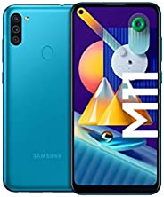 Samsung Galaxy M11 Android Smartphone ohne Vertrag, Triple-Kamera, 6,4 Zoll HD+ Infinity-O Display, großer 5.0