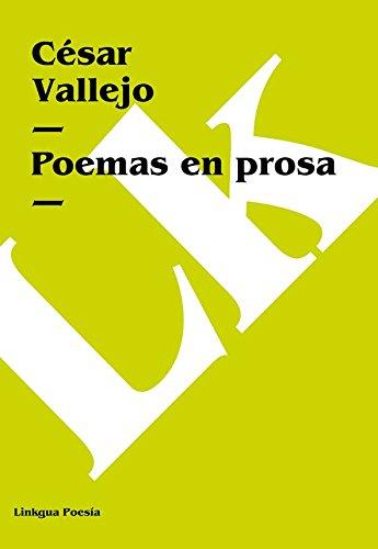 Poemas en prosa por César Vallejo