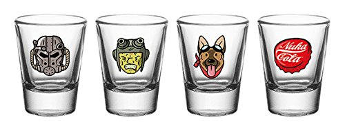 GB Eye LTD,Fallout 4, Iconos, Vasos de chupito