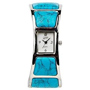 Eton 2907L-TQ – Reloj para Mujer, Correa de Otros Materiales Color Azul