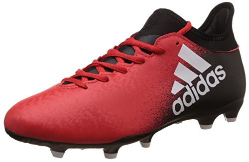 adidas X Fg, Chaussures de Football Homme Multicolore (Red/Ftwr White/Core Black)
