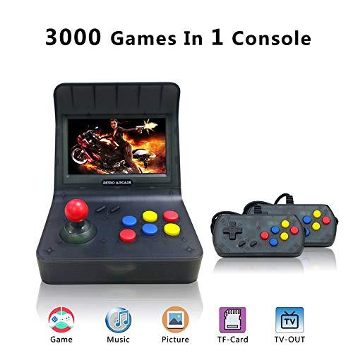 YLM Retro Game Console, Console di Gioco Portatile per Game Player 16GB 4.3 'Screen 3000 Giochi