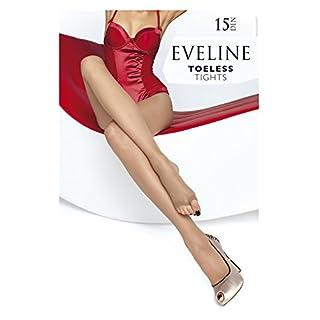 Fiore Eveline 15 den Strumpfhose Peeptoes, zehenfrei! (M, Natural)