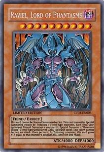 Yu-Gi-Oh! - Raviel, Lord of Phantasms (CT03-EN003) - 2006 Collectors Tins - Limited Edition - Secret Rare by Yu-Gi-Oh!