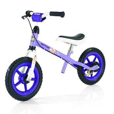 Kettler Laufrad Speedy Pablo – das ideale Lauflernrad – Kinderlaufrad mit Reifengröße: 12,5 Zoll – stabiles & sicheres Laufrad ab 2 Jahre – weiß &