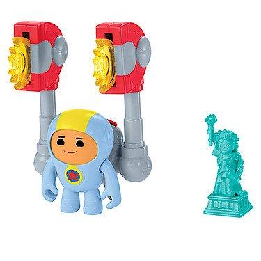 Fisher-Price – GO Jetters – Foz & Géo-Magnet – Figurine et Accessoires Géo Jet