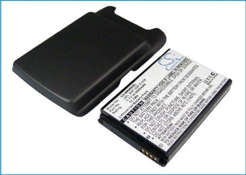 s- Akku für BlackBerry Torch 9860, Torch 9850 (With Back Cover) ()