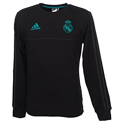 Adidas SWT sweat-shirt de Real Madrid, homme M noir