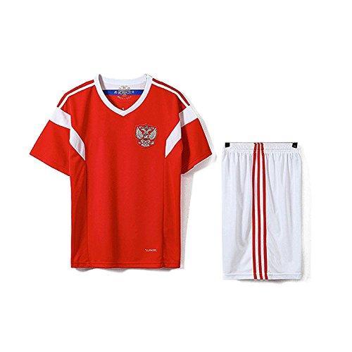TOOGOO Familie Atmungsaktive Sportbekleidung Fussball Set World Cup Russland Fussball Trikots Uniformen Fussball Kit Shirt Trainingsanzug (Mann, M)