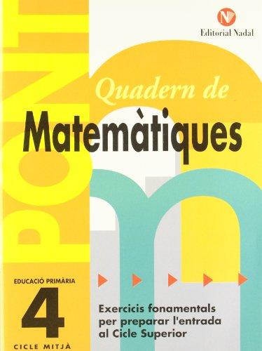 Pont Matemàtiques 4t primària