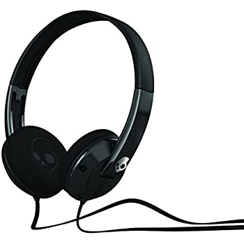 Skullcandy Uprock 2.0 On-Ear Headphones - Black/Black