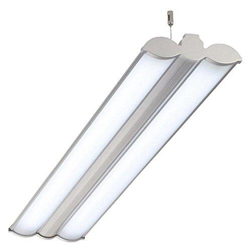 Büroleuchten LED, HEIDI, 36W mit 2x18W LED RÖHREN, 123cm, Bürolampe, Pendelleuchte, Hängeleuchte LED -