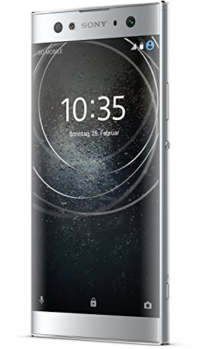 Sony Xperia XA2 Ultra Smartphone (15,2 cm (6 Zoll) Full HD Display, 32 GB Speicher, 4 GB RAM, Android 8.0) silber