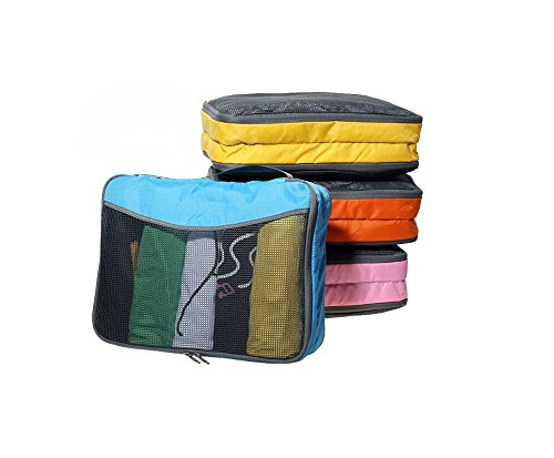 ow-travel-packing-cubes-4pc-premium-quality-suitcase-organisers-twin-pockets