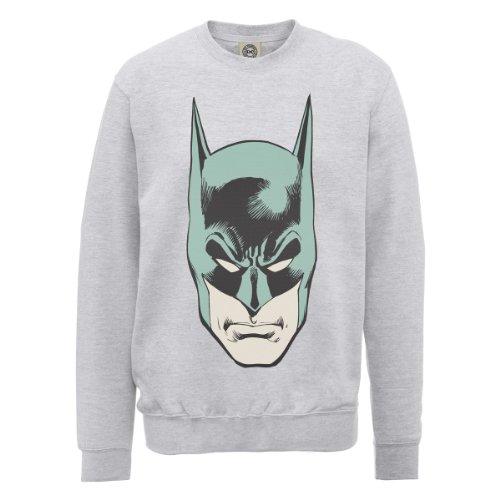 DC Universe Herren Sweatshirt grigio (Heather Grey)