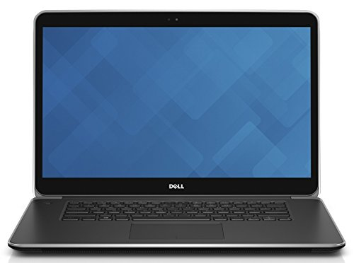 Dell PRECISION M3800-9325 39,6 cm (15,6 Zoll) Notebook (Intel Core i7 4712HQ, 3,3GHz, 16GB RAM, 256GB HDD, Touchscreen, Win 7 Pro) schwarz/silber
