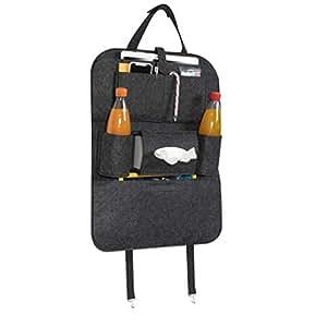 2x Anti-Tritt Rückenlehnentasche Rückenlehnenschutz Auto Rücksitz Organizer Bag