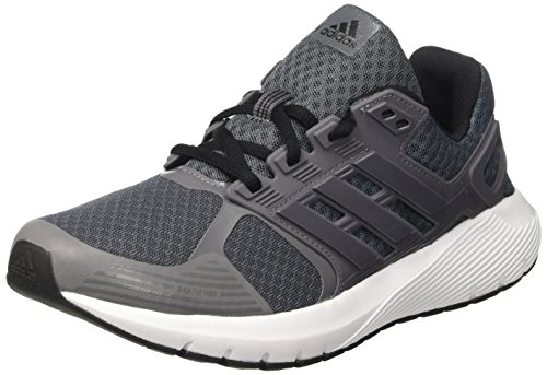 adidas Herren Duramo 8 Laufschuhe, Grau (Onix/Grey Four F17/Core Black), 43 1/3 EU