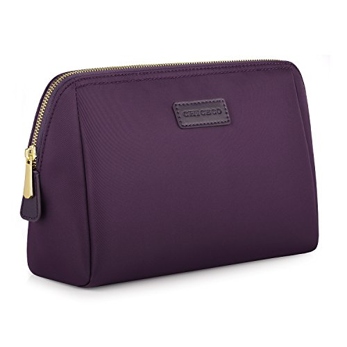 chiceco-handy-nylon-large-makeup-bag-toiletry-bag-organizer-dark-purple