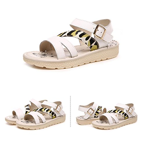ALUK- Chaussures de plage Bottom ( couleur : Off white , taille : 37 ) Off white