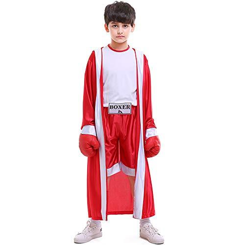 Mädchen Herren Halloween Kostüm Kinder Karneval Fasching Sportbekleidung Boxer Wettbewerb Fotografie - Baby Boxhandschuhe Kostüm