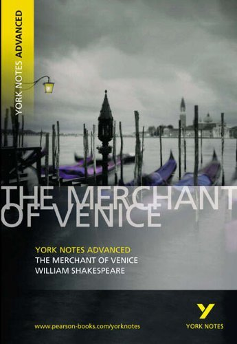 Merchant of Venice: York Notes Advanced by Shakespeare, William (June 23, 2005) Paperback