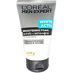 L'Oreal Paris Men Expert White Activ Brightening Foam ,100ml