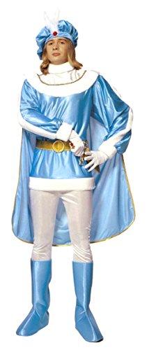 Kostüm Prinz Herren - Widmann Kostüm Prinz hellblau TG.XL Herren Erwachsene 3176p