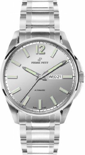 Pierre Petit - P-801D - Montre Homme - Automatique - Analogique - Bracelet Acier Inoxydable Argent