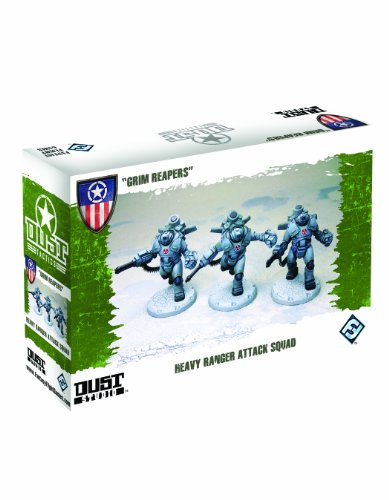Imagen 1 de Dust Tactics Heavy Ranger Attack Squad: Grim Reapers