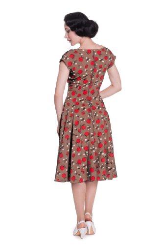Ligne bunny sHEILA robe robe 4324 Marron - Karamell