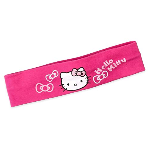 Sanrio Baby Haarband Mädchen pink   Motiv: Hello Kitty   Baby Stirnband für Neugeborene & Kleinkinder   Größe: (Mütze Hello Kitty Baby)