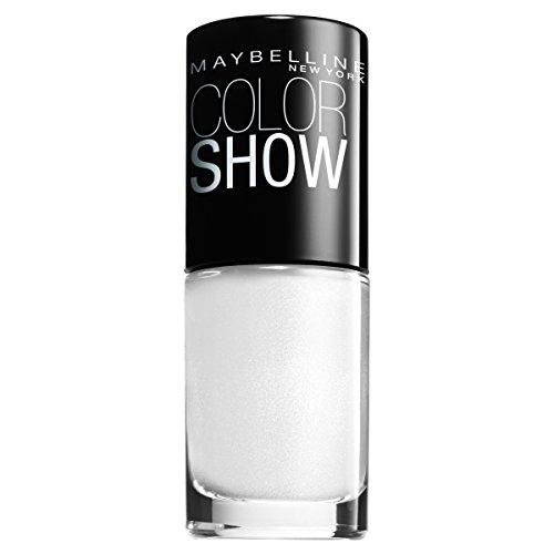 Maybelline ColorShow Nagellack, Nr. 130 Winter Baby, bringt die Laufsteg-Trends aus New York auf die...
