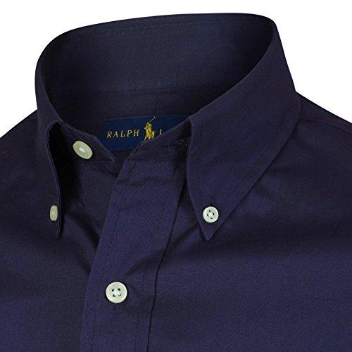 Ralph Lauren Herren Hemd - Navy - Langarm Blau - Navy