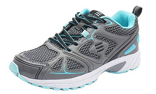 SelfieGo Damen Laufschuhe Atmungsaktiv Sportschuhe Turnschuhe Trainers Running Fitness Sneakers (Beinhaltet EIN Paar zusätzliche Einlegesohlen)