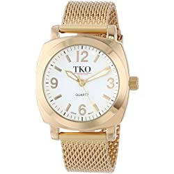 TKO ORLOGI Women's TK586G Milano Gold-Tone Watch