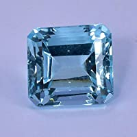 Natural Aquamarine Weight: 15.90 carats Size: 13.72 with identification card