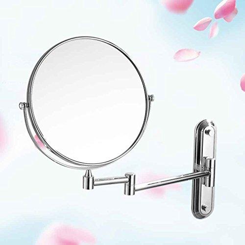 Miroirs Salle de Bain de Maquillage de Salle de Bains télescopiques de Salle de Bains de Mur télescopiques Profitez du de beauté d'un hôtel de Luxe à la mai