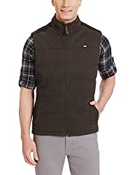 Arrow Sports Mens Synthetic Jacket (8907036918861_AJOS9021_Large_Black)