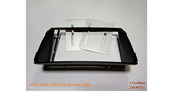 Autostereo 11 073 Radioblende Für Kia Sorento Xm 2009 2012 Montagekit Installation Kfz Radio Einbau Rahmen Auto