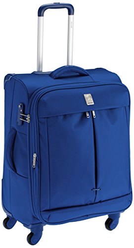 Delsey-Flight-Soft-65Cm-Light-Blue-Check-In-Trolley-Luggage-00023481012C9