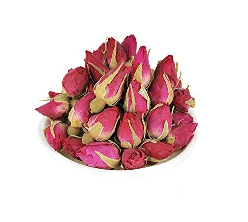 Rosebud Red Rose Tea Herbal Flower Tea Loose Leaf Tea Decaffeinated - 1lb