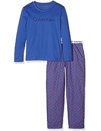 Calvin Klein Jungen Zweiteiliger Schlafanzug Woven Pj Set (2pcs)