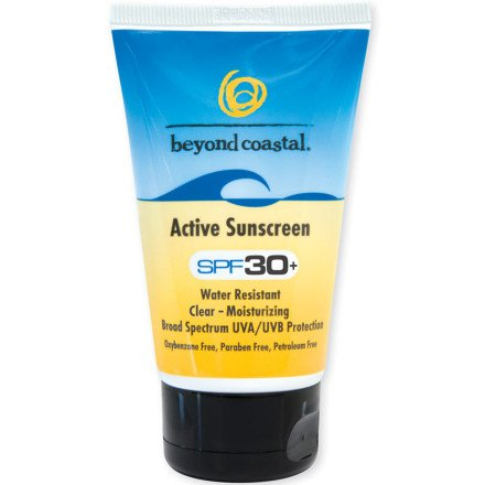 Beyond Coastal Active SPF 30 Sunscreen 4oz, Water Resistant by